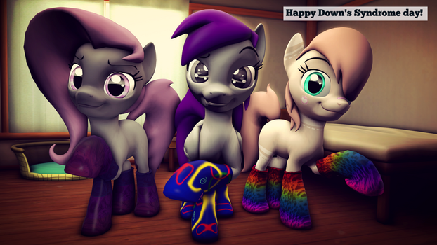 Down's Syndrome day by AskShyLuna
