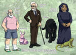 BICP Past Character Sketches by ErinPtah