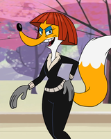 Looney Tunes - Fox Spy by theEyZmaster