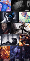 Art Summary 2016 by vexnir