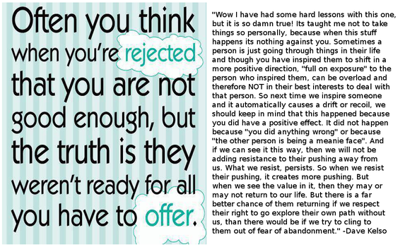 The Brighter Side Of Rejection by paradigm-shifting