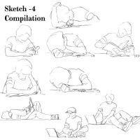 Sketch Compilaion -4 by BlkBtrfli8