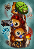 CM - Pepe Thrall by LadyRosse