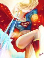Supergirl by wittywackypoo