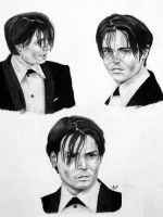 three faces of depp by abish