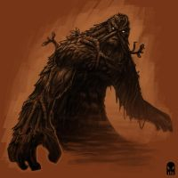 Swamp Thing by MAROK-ART