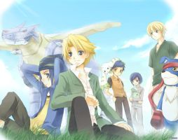Digimon Adventure - Side B by kurot