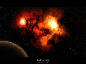 Red Nebula by Lucifer4671