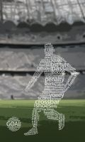 Football typography by wellgraphic