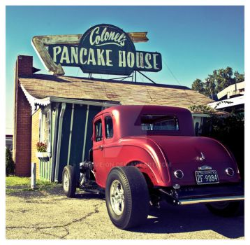 The Colonel's Pancake House by Drive-On
