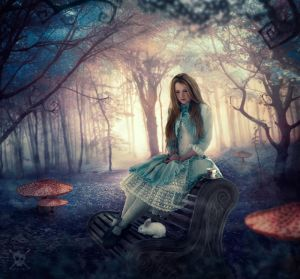 Alice In Wonderland by AndyGarcia666