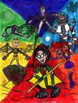 Teen Titans by SonicClone