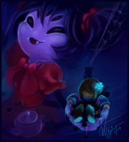 Muffet -ShortTale- by nakamaslee