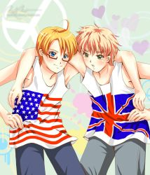 US and UK Love and Peace by rae-shi