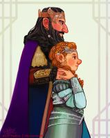 King and Queen of Erebor by Mad-Hattie