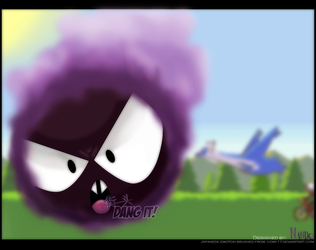 Gastly's Tough Life by NandoRemi