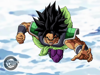 Broly HD by SarriaArt