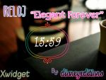 Reloj Elegant Forever For Xwidget by Dianeyeditions