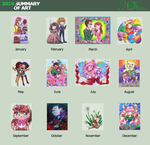 NS Art Summary 2014 by NasikaSakura