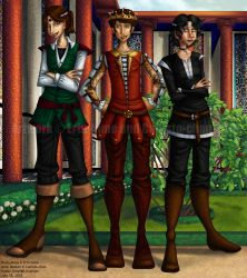 COLLAB: Medieval Princes by callisto-chan