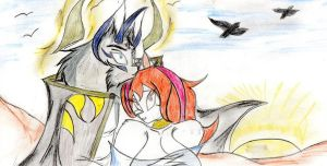 Ruler y Fabb :3. by wolf1818