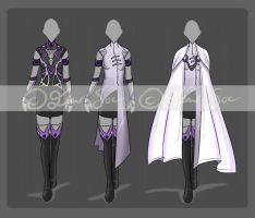 Outfit Design Set [CLOSED] by JxW-SpiralofChaos