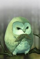 Rowlet by moniterman
