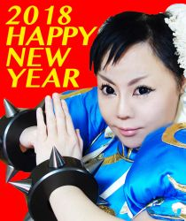 Chun_Li Cosplay photograph by Elin-Kuzunoha