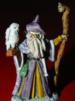 Jareth the Warlock, and Mother the Owl by TheGnas