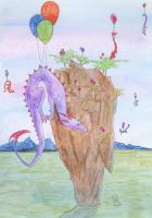 Some dragons are born to fly by Scellanis