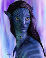 Neytiri - Colored by realgrantin