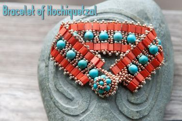 bracelet of Xochiquetzal by Nameda