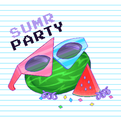 Pixel - Melon Party by firstfear