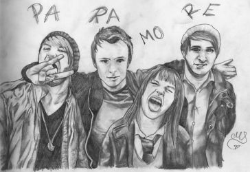 Portraits of Paramore by Schnuffelpuff