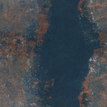 rusty painted metal 01 by ftourini-stock
