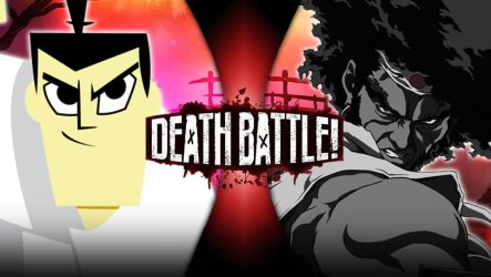 Samurai Jack vs Afro Samurai : Future Number One by Taurock