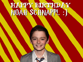 Happy Birthday Noah Schnapp!. :) by Nolan2001