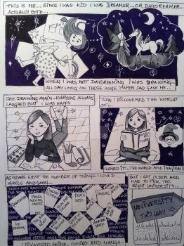 The little me comics p.1 by TheCathArt