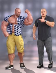 Dynamic Modern Clothes for Hercules and Swole 7 by SimonWM