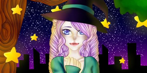 Witchy by Heart-Wolfii