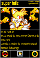 Undercards Super Tails(transformation) by shadowNightmare13