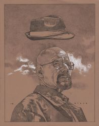 Mr White / Heisenberg by stevenrussellblack