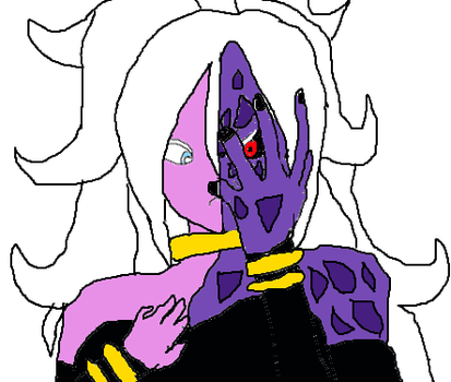 internal conflict (android 21) by N7warrior007