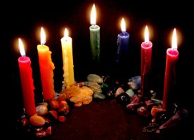 Candles and Stones by El-Sharra