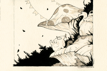 Inktober day 14 - The Clans part IV by clover-teapot