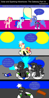 Solar and Sparking Adventures: The Gateway Part 14 by EmoshyVinyl