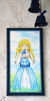Canvas on the Wall: Zelda by Fenrisfang