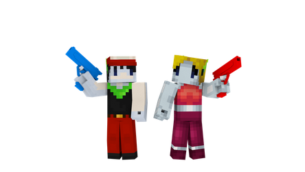 Cave Story/Minecraft by Mario28037