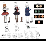 Emery  Character Reference [Oc] by aidmoon