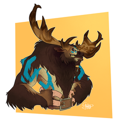 Commission: Tauren by GalooGameLady